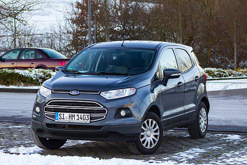 Ford, Ecosport, Suv, Vehicle, Automotive