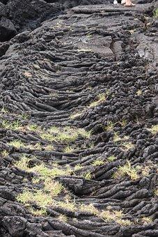 Lava Flow, Volcanoes National Park, Hawaii, Lava