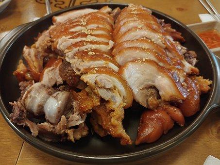 Ham Hocks, Pork, Food, Suyuk, Bossam, Life, Dining Room