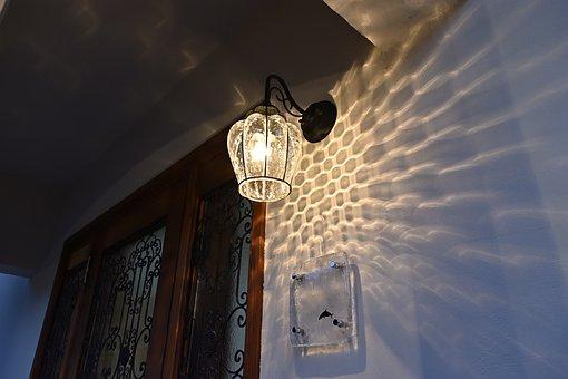 Entrance, Light, Door, Architecture