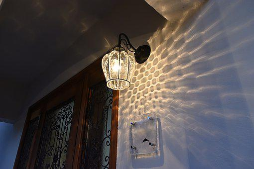 Entrance, Light, Door, Architecture, House, Home, Metal