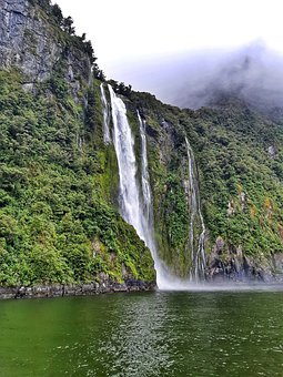 Fiordland, Milford Sound, Fiord, New Zealand, Nz