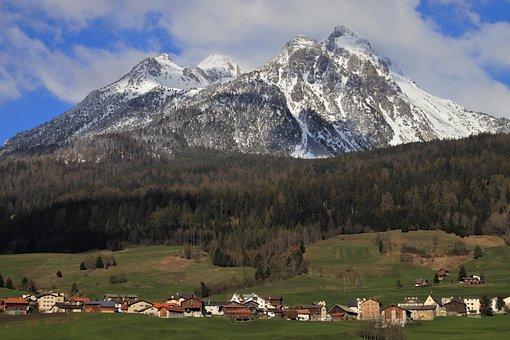 See, Alp, Mountain, Peak, Scenery, Landscape, Far View