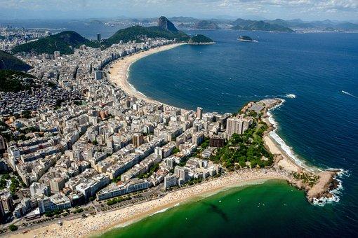 Brazil, Rio, Landscape, Tourism, Ocean, Arpoador