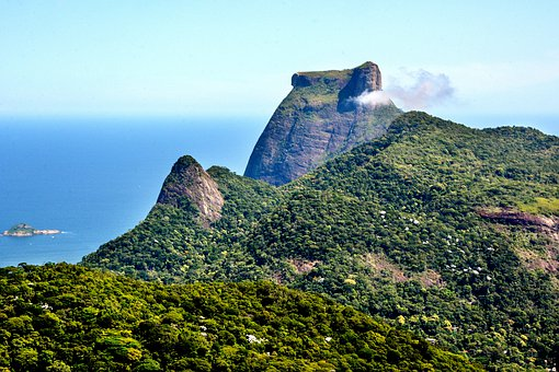 Brazil, Rio, Landscape, Tourism, Gavea