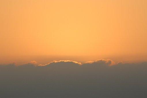 Sunset, Sun, Sky, Sea, Clouds, Mood, Dusk, Harmony