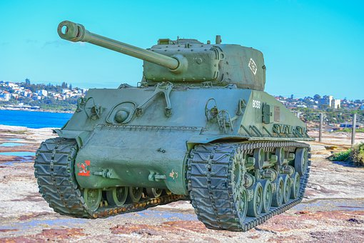 Sherman Tank, Ww2, History, Armour, Military, Gun