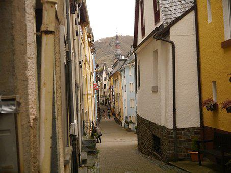 Europe, Germany, Old City, Architecture, Way, Street