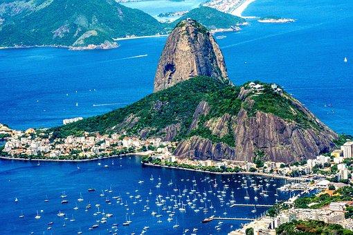 Brazil, Rio, Landscape, Sugarloaf, Mountain, Tourism