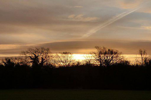 Lift, Sun, Landscape, Nature, Sky