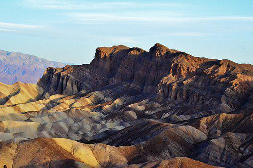 Death Valley Np, California, Usa, Landscape, Nature