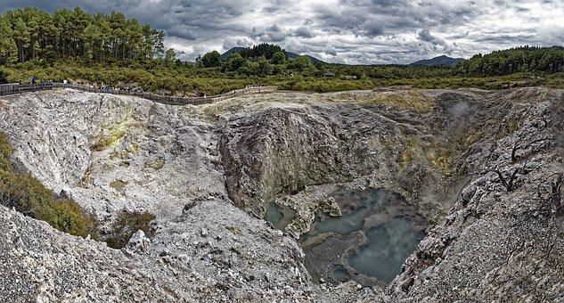 New Zealand, Wai-o-tapu, Waiotapu, The Geothermal Area