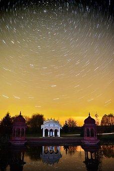 At Night, Sanctuary, Worship, Church, Tourism, Water