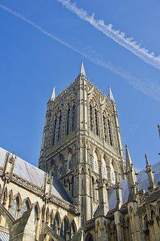 Cathedral, Spire, Lincoln, Imposing, Architecture