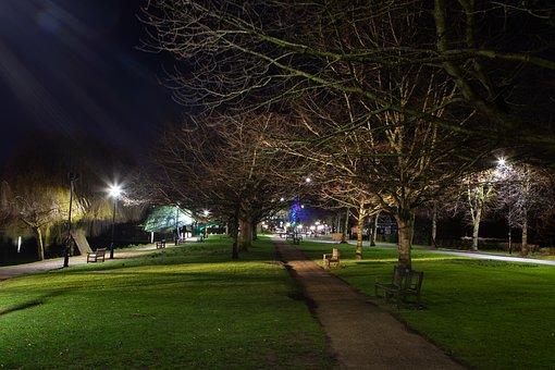 Bedford Embankment, Bedford, England, Embankment