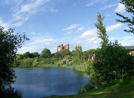 Tattershall Castle, Blue Sky, Castle, Tattershall