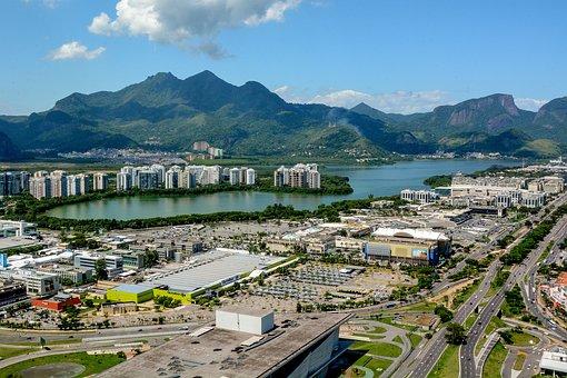 Brazil, Rio, Landscape, Tourism, Mountain, Barra