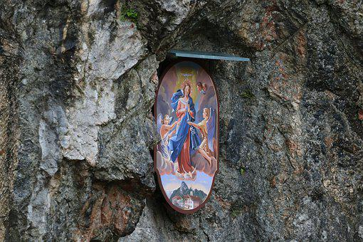Religion, Icon, Christianity, Christian, Ornament, Rock