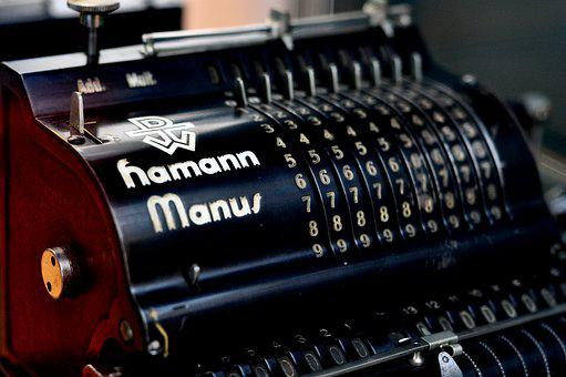 Calculating Machine, Count, Pay