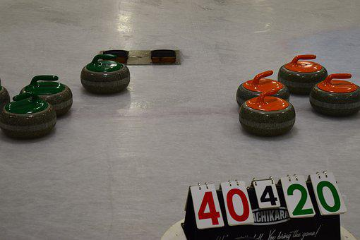 Curling, Curl, Curls, Winter, Ice Arena