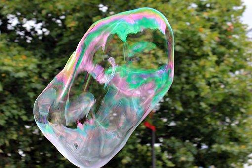 Bubbles, Soap, Arnre, Colorful, Cold, Color, Frozen