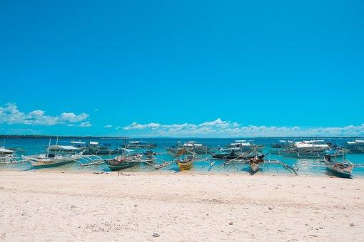 Beach, Beautiful, Blue, Boat, Boats, Coast, Holiday