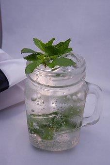 Mint Soda, Cocktail, Drink, Spa, Soda, Mint, Juice