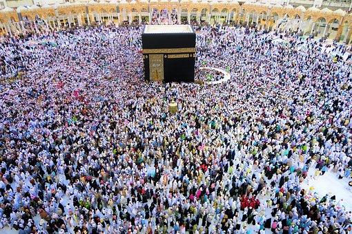 Mecca, Kaaba, The Pilgrim's Guide, Tawaf, The Crowd