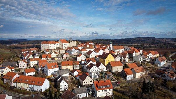 Lupburg, Bavaria, Upper Palatinate, Sky, Landscape