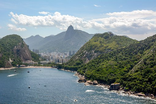 Brazil, Rio, Landscape, Tourism, Ocean