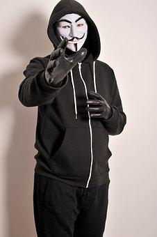 Criminal, Killer, Evil, Gloves, Leather Gloves, Adult