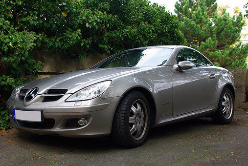 Mercedes, Auto, Slk, Automotive, Luxury