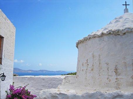 Patmos, Greece, Greek Orthodox Church, Mediterranean