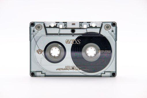 Cassette, Music Cassette, Audio, Music