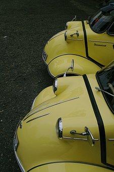 Messerschmitt, Cabin Scooter, Small Car, Auto, Pkw