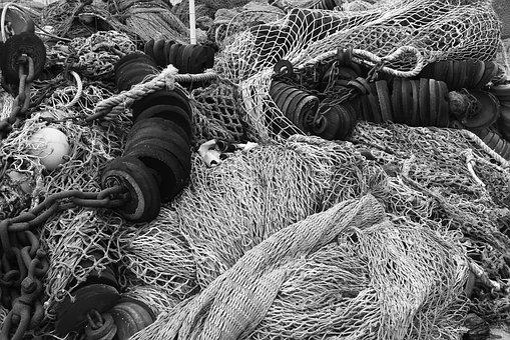 Netting, Fishing, Port, Recycling