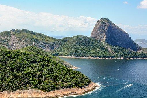 Brazil, Rio, Landscape, Tourism, Ocean, Mountain