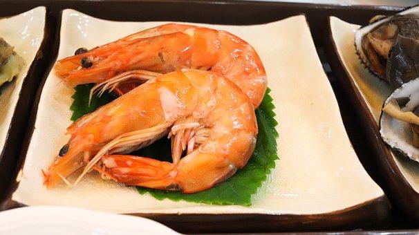 Shrimp, Sashimi House, Sashimi, Korean Food