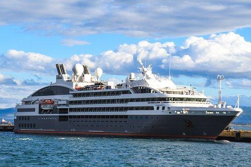 Cruise, Boat, Patagonia, Sea
