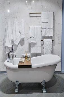 Bathroom, Bath, Bathtub, Shower, House, Tub, Home, Spa