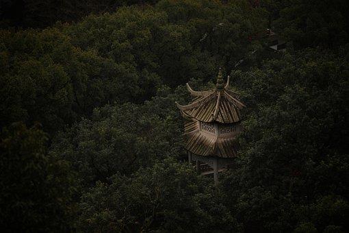Temple, China, Religion, Asia, Travel, Tourism, Culture