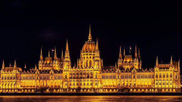 Budapest, The Parliament, Hungary, Architecture, Danube