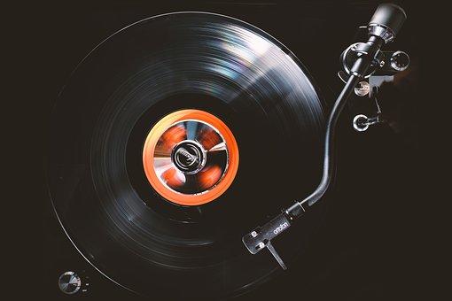 Plate, Turntable, Record, Vinyl, Tonearm, Music, Audio
