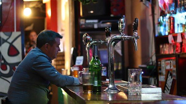 Bar, Beer, Drinks, Bottles, Liquor