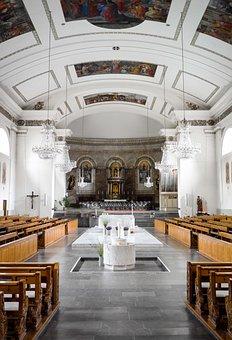 Dornbirn, Vorarlberg, Rural, Church, Worship, Jesus