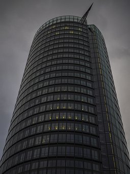 Architecture, Skyscraper, Building, Düsseldorf, City