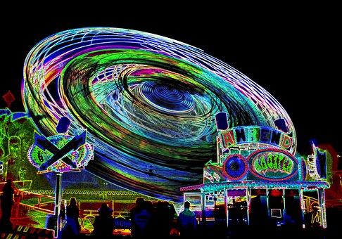 Fair, Festival, Night, Year Market, Folk Festival, Fun