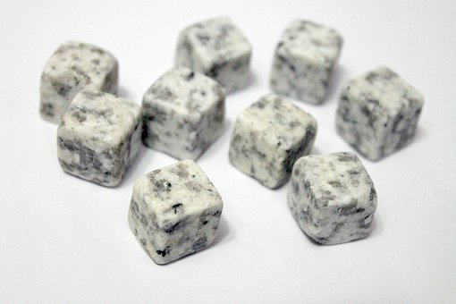 Stones, Soapstone, Mineral, Minerals, White, Grey