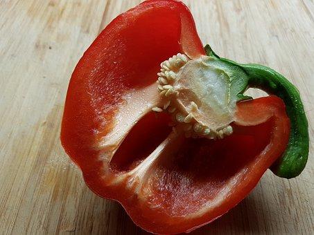 Paprika, Vegetables, Food, Healthy, Red, Fresh