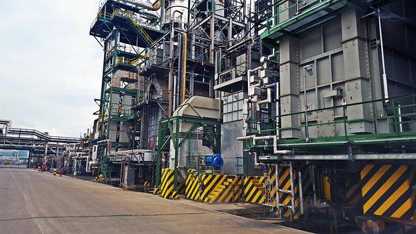 Industry, Refinery, Refinery Oil